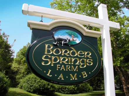 Border Springs Farm - Lamb Products